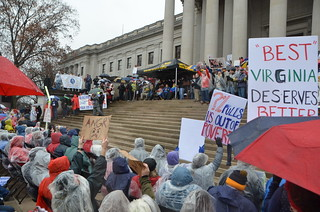 WV School Worker Action Rally | by rmcgervey