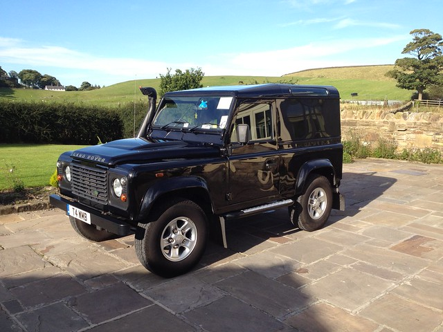 2009 Land Rover Defender 2.4 TDCI 90 County Hard Top