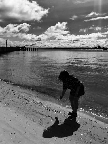 clouds cyndi woman shadow