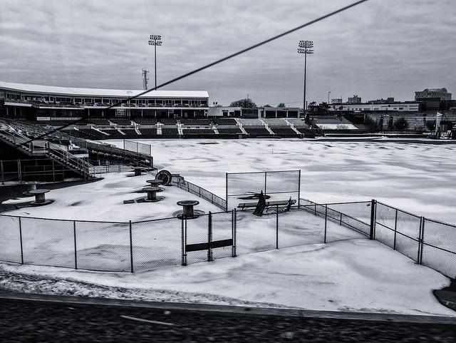 Ballfield--Winter