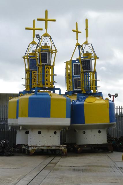 Navigation Buoys at Harwich.