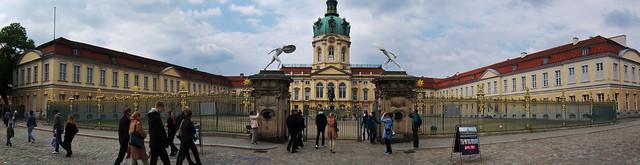 Panoramabild Schloss Charlottenburg