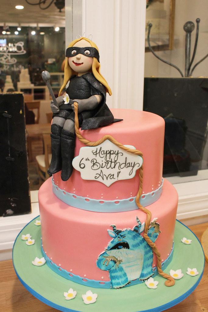 Phenomenal Princess Magnolia Book Birthday Cake Oakleaf Cakes Flickr Funny Birthday Cards Online Alyptdamsfinfo