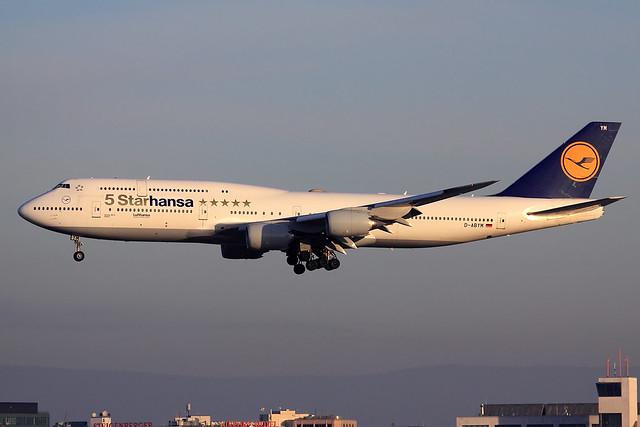 Lufthansa  Boeing 747-830 D-ABYM