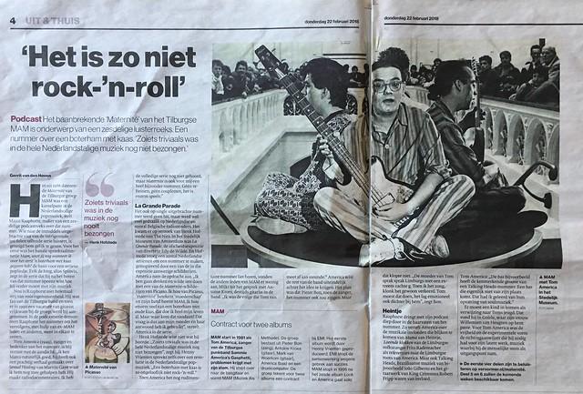 Aandacht in Brabants Dagblad voor mijn podcast VERVORMER