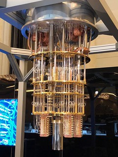 #IBMQ quantum computer at CES | by the rab