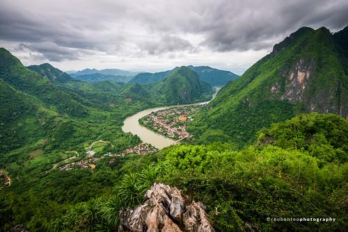 Phadeng Peak, Nong Khiaw, Laos   by reubenteo