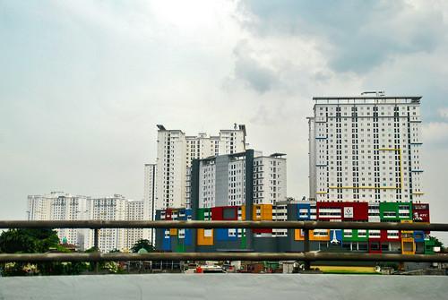 jakarta building gedung architecture arsitektur apartemen apartment