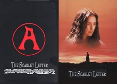 The Scarlet Letter (1995 / Buena Vista) front & back covers