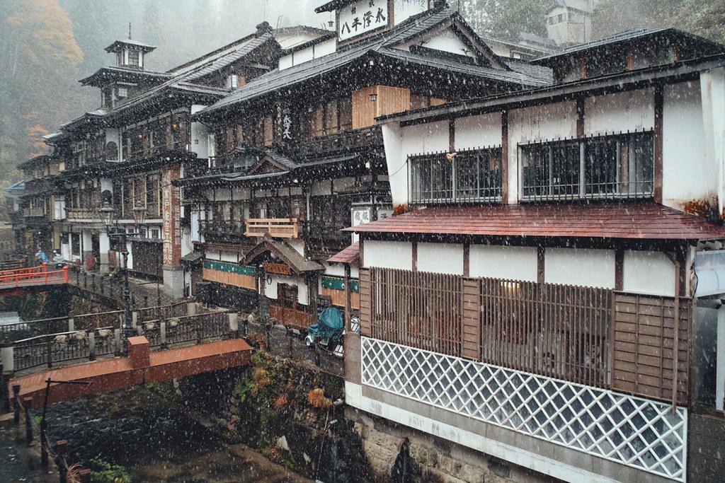 銀山温泉 雪 ライブカメラ