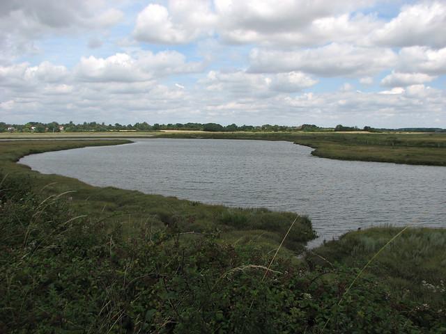 Marshes beside St Osyth Creek