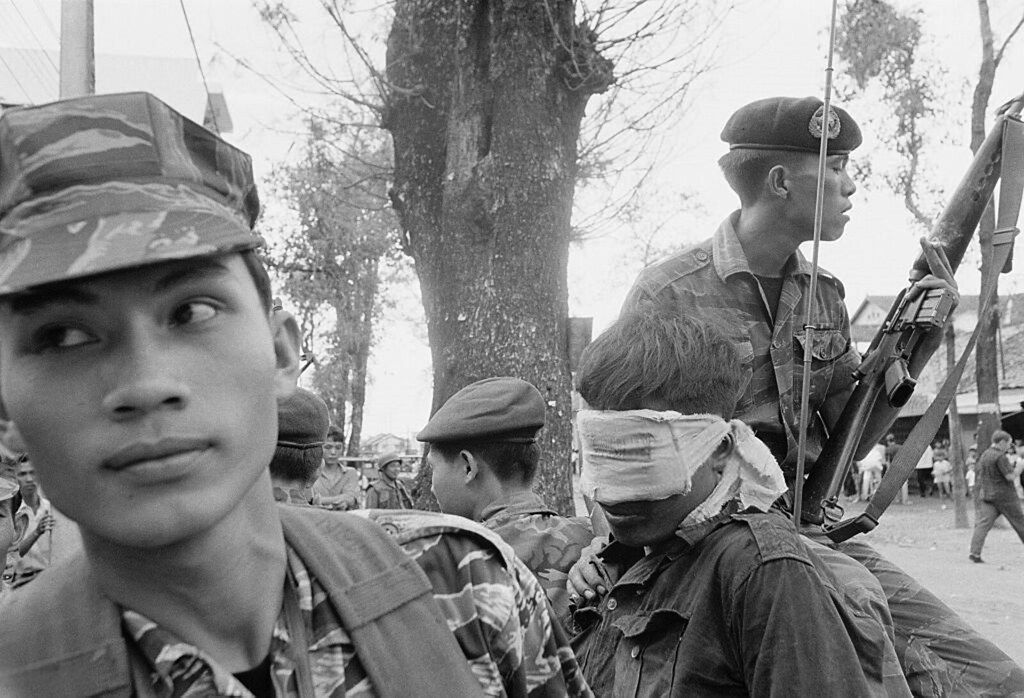 Insulting Behavior To A Viet Cong Corpse Pictures | Getty