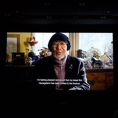 Nobuhiko Obayashi, director of Hanagatami, sends a video message to the #iffr audience