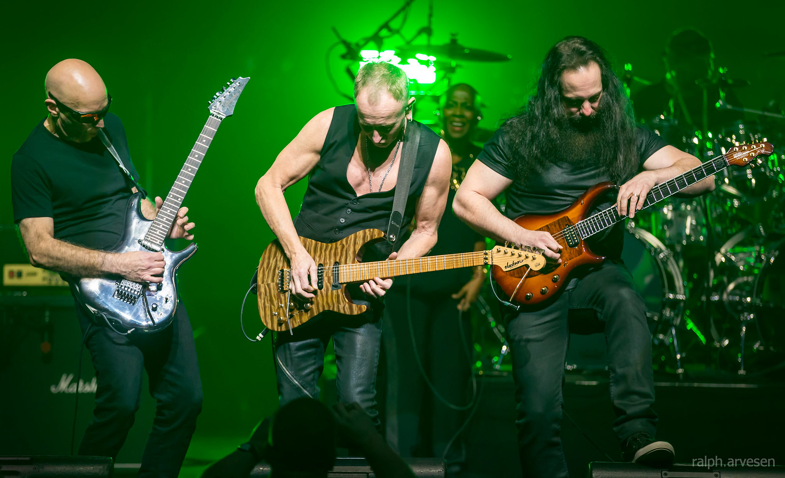 John Petrucci | Texas Review | Ralph Arvesen