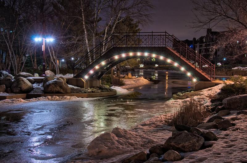 Bridge Over Icy Water m5s