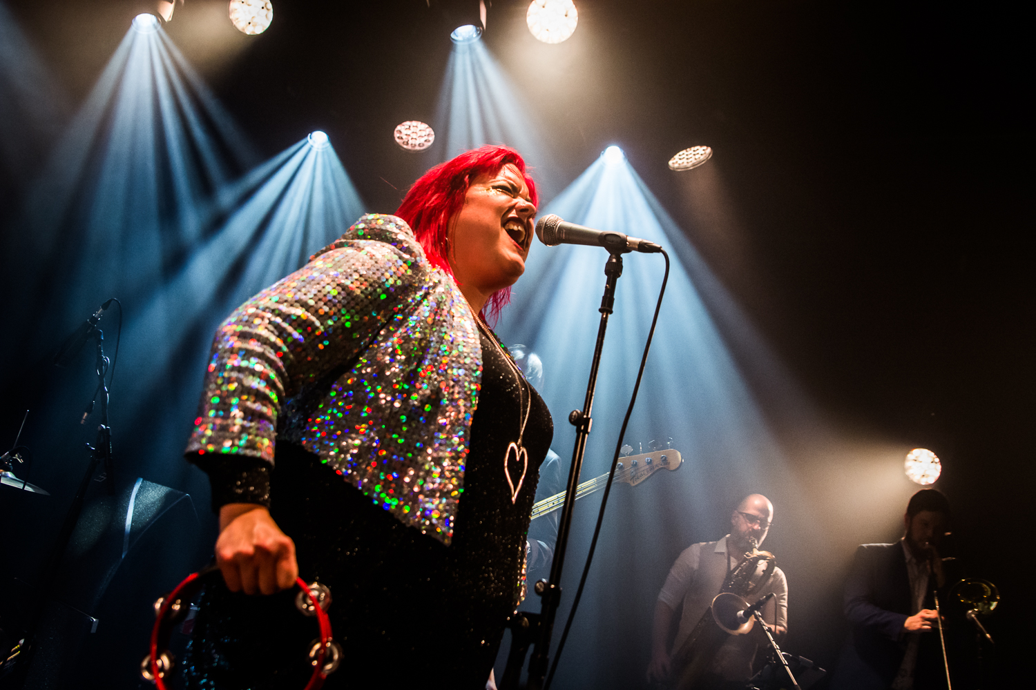 Hannah Williams And The Affirmations @ Ancienne Belgique (© Timmy Haubrechts)