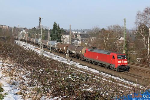 Eschweiler Hbf. 09.02.18.