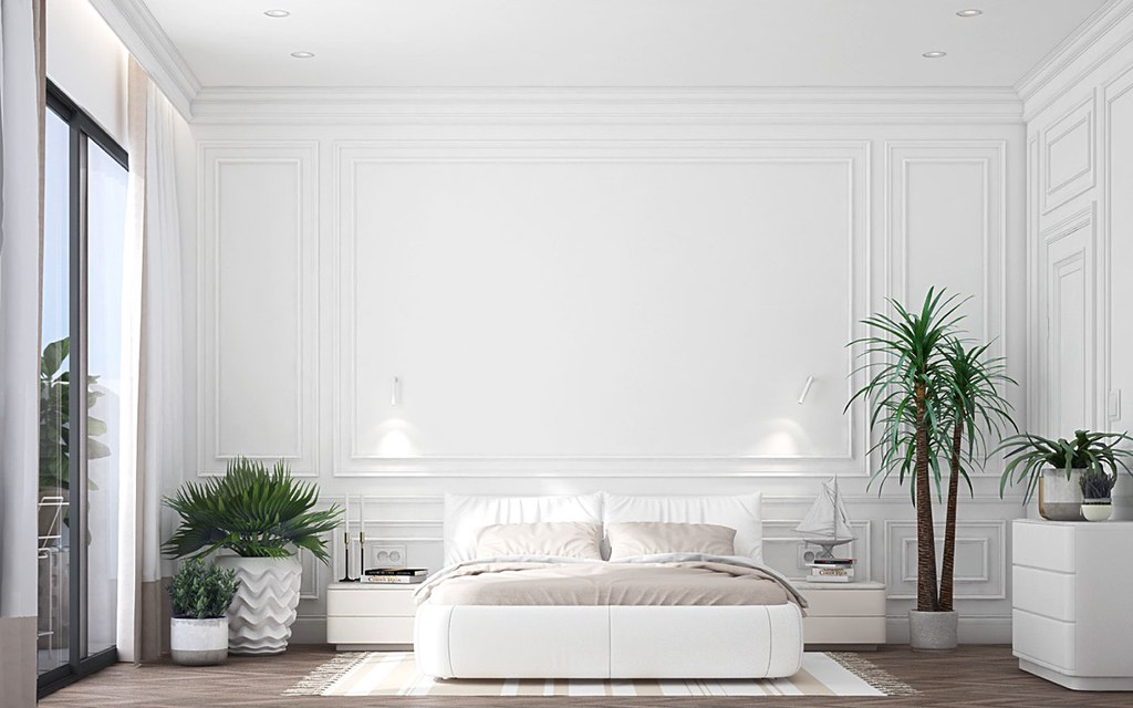 Superb White Bedroom Designs With Plants Top Design Ideas For Whi Download Free Architecture Designs Scobabritishbridgeorg