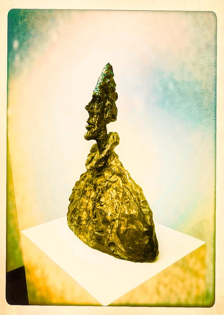 Alberto Giacometti, Bust of Diego, 1955 (Sideview)