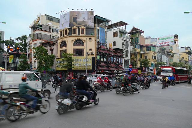 Vietnam – Hanoï – Traffic