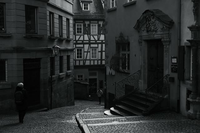 @ a corner of Schwäbisch-Hall, Germany