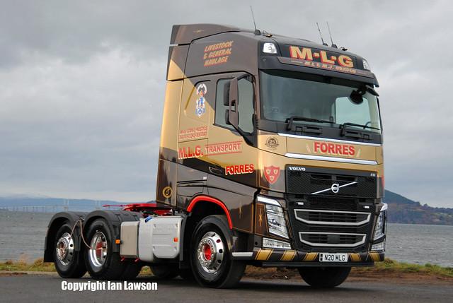 N20 MLG M.L.G. Transport Volvo FH13 500 Globetrotter