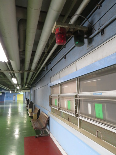 船橋競馬場の4階のパトランプ