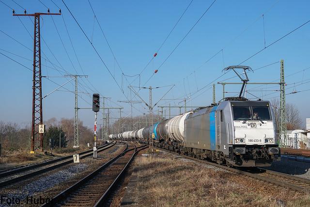 186 433 Railpool / HSL Logistik | Leipzig-Thekla | Februar 2018