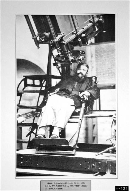 Le père jésuite S. Chevalier, fondateur de l'Observatoire astronomique de Sheshan (Chine)