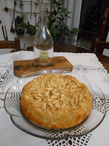 Torta di mele cremosa di Night  0003   by cheffina2012