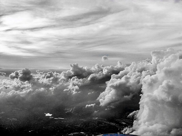 """""""There are two ways to live a life --either forget everything or remember nothing."""" ―Santosh Kalwar ☁️ ✈️ ☁️"""