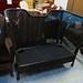 Large cane sofa E100
