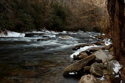 deepcreek brysoncitync rapids water snowandice nature naturephotography greatsmokeymountains canon77d