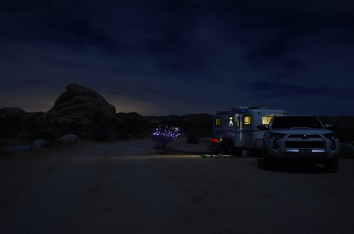 Joshua Tree - night camp
