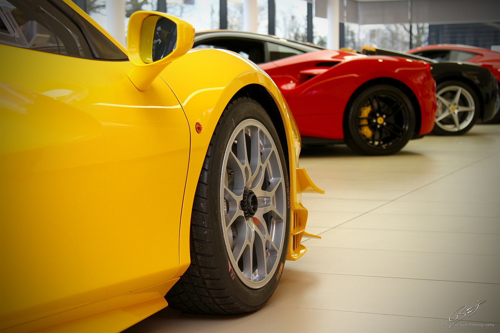 Ferrari 488 Challenge Front 2