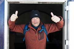 Explorer Robert Swan heads to the South Pole