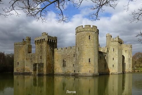 ruine burg castle himmel wasser wolken