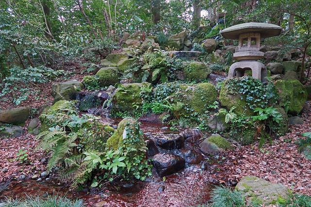 The Gardens of Oyama Shrine - Kanazawa, Japan