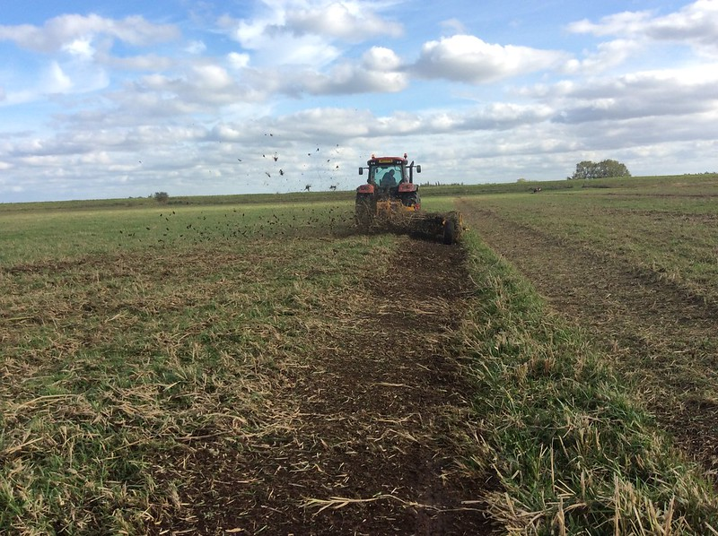 Foot drain management at RSPB Ouse Washes 2017 (1)