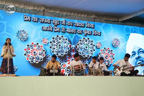 Devotional song by Baby Rhythm Kumar Santosh from Goregaon