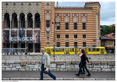 City Hall (Vijećnica)  Sarajevo  Bosnia