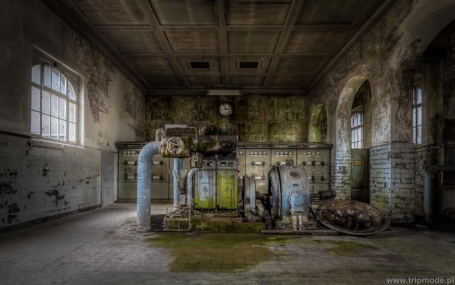 Abandoned hydropower plant