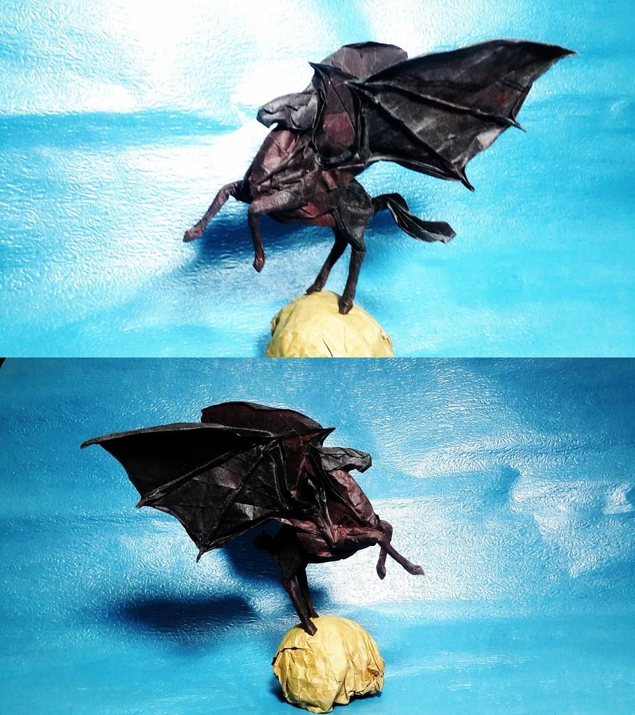 Demon Pegasus Actually I Start Design Pegasus From This Id Flickr
