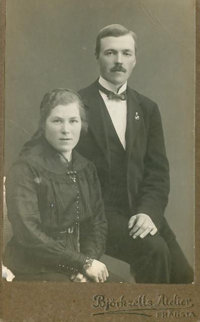Couple from Fränsta