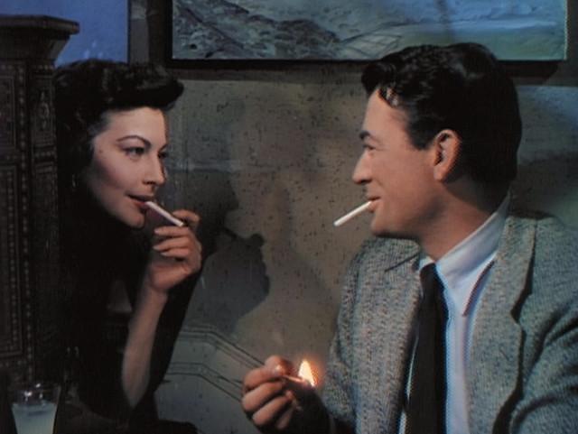 Ava Gardner, Gregory Peck, The Snows of Kilimanjaro (1952)