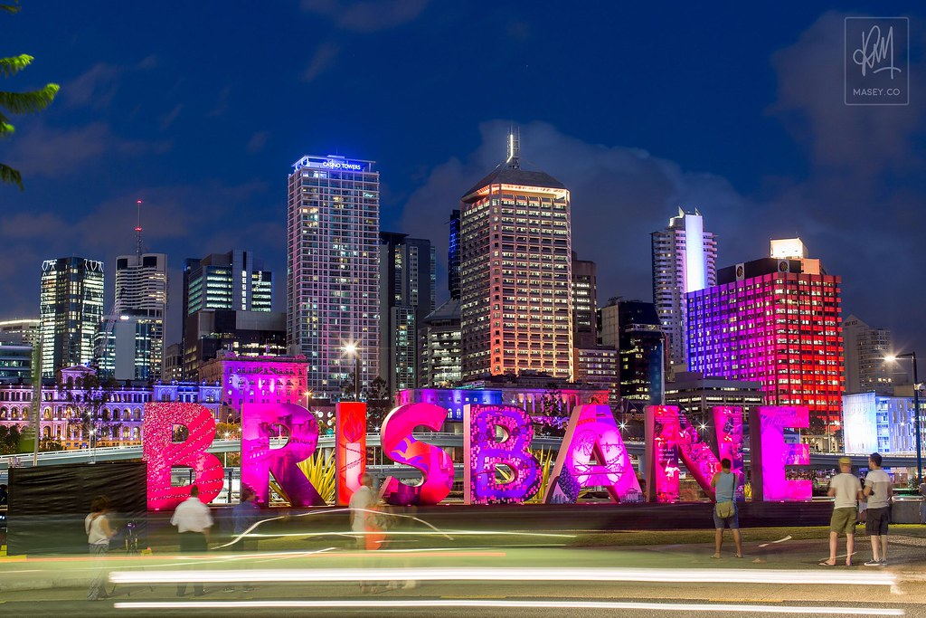 The ever popular Brisbane sign visited by over 25,000 people during the G20 period