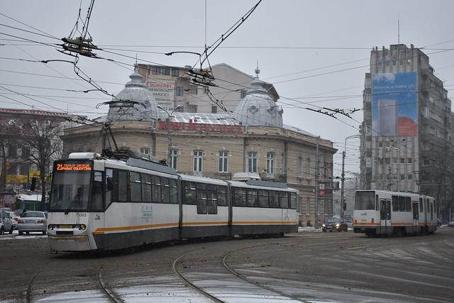 V3A-2010-CA 063 al STB - Depoul Colentina - linia 21  -  Tram 063 Bucharest  -  Straßenbahn 063 Bukarest