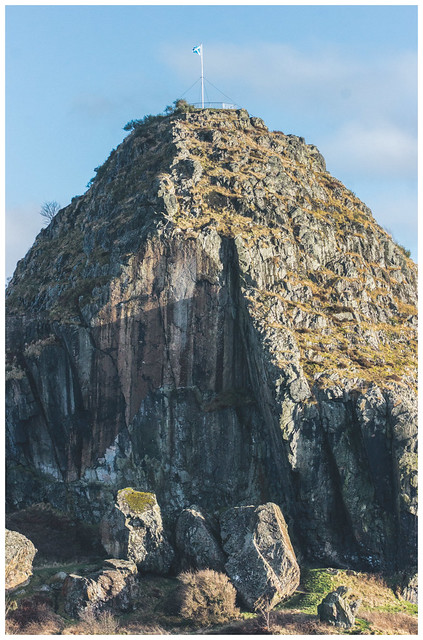 Dumbarton Rock & Blue Sky, Dumbarton