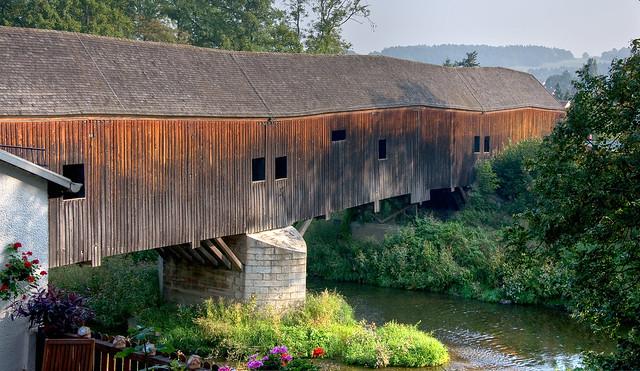 Historische Holzbrücke  (1)