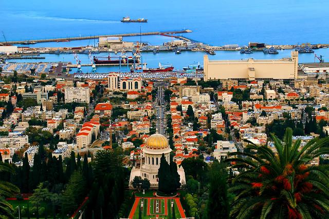 Haifa. Bahai gardens